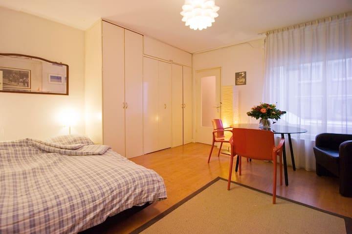 Mooie kamer in de buurt van het centrum met een eigen bad
