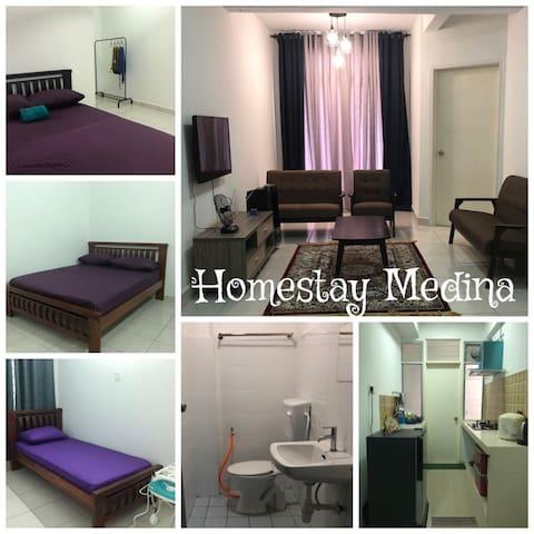 Medina Homestay, Wakaf Che Yeh