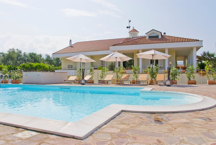 Villa Liberti  Appartamento Orange