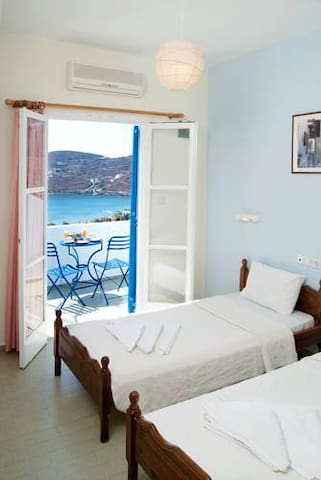 Apartment with sea view (up to 5 persons) - İos - Daire