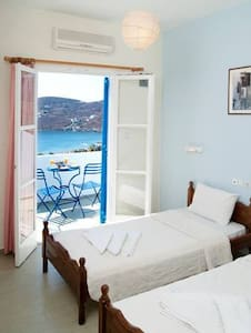 Apartment with sea view (up to 5 persons) - Ios
