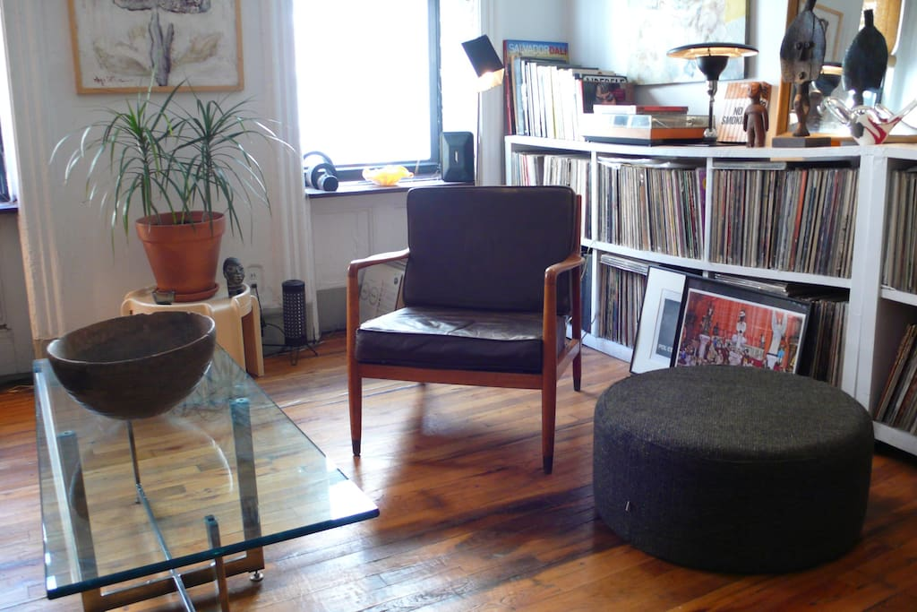Mid-Century Furniture, Wooden Floors