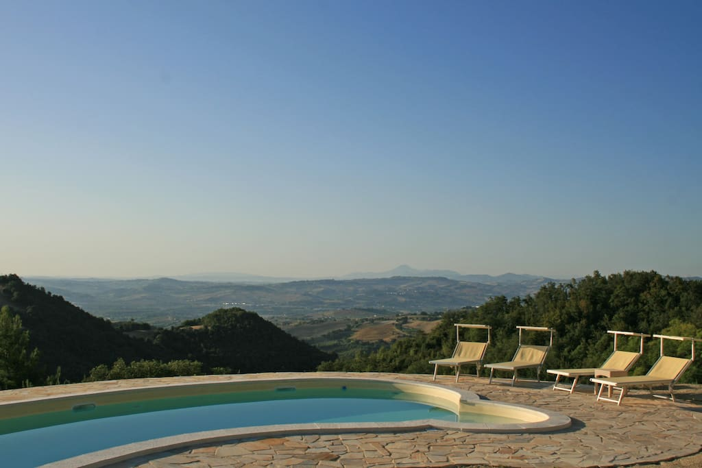 Swimming Pool with the amazing panorama