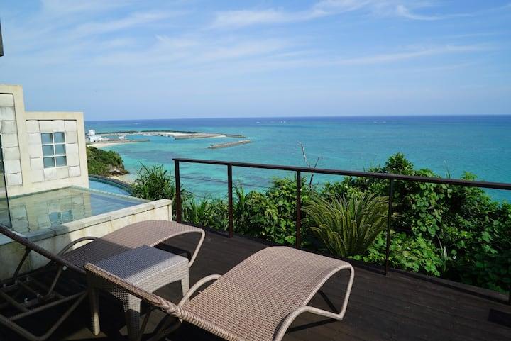 Ocean Front Resort Villa in Okinawa (TYPE 4: 55㎡)