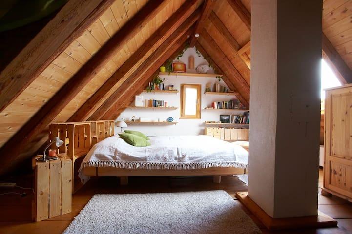 Übernachten im Deggenhausertal (dasTal der Liebe) - Deggenhausertal - House