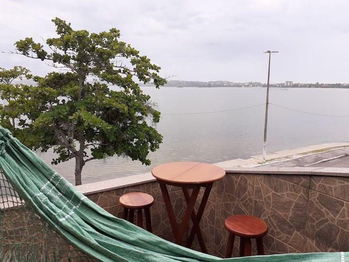 Apartamento fente lagoa Saquarema! 300 mts praias!