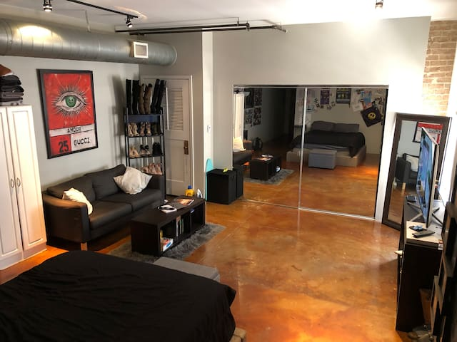 Entire Quirky Studio in Downtown Houston