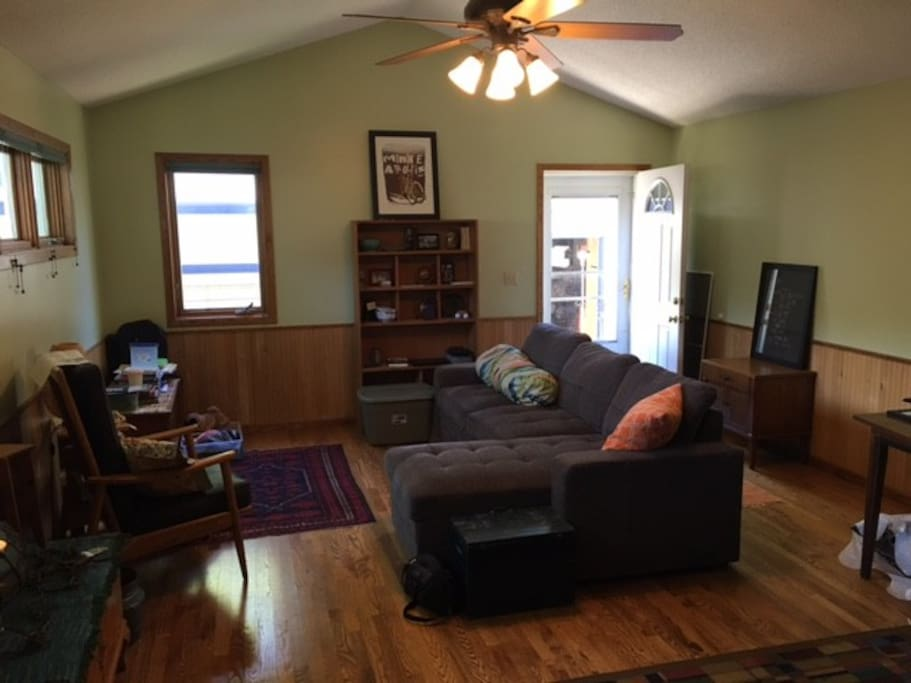 Open and comfortable living space (sorry no TV)