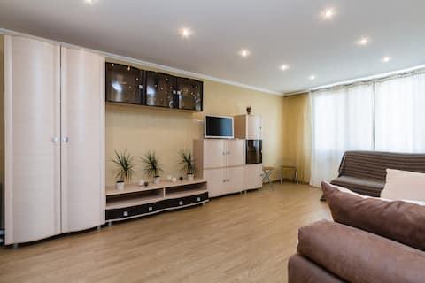 Spacious apartment near metro & the center SPb