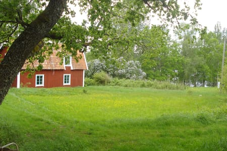 Swedish Red Cottage Late 18th Cent. - Gnesta - Huis