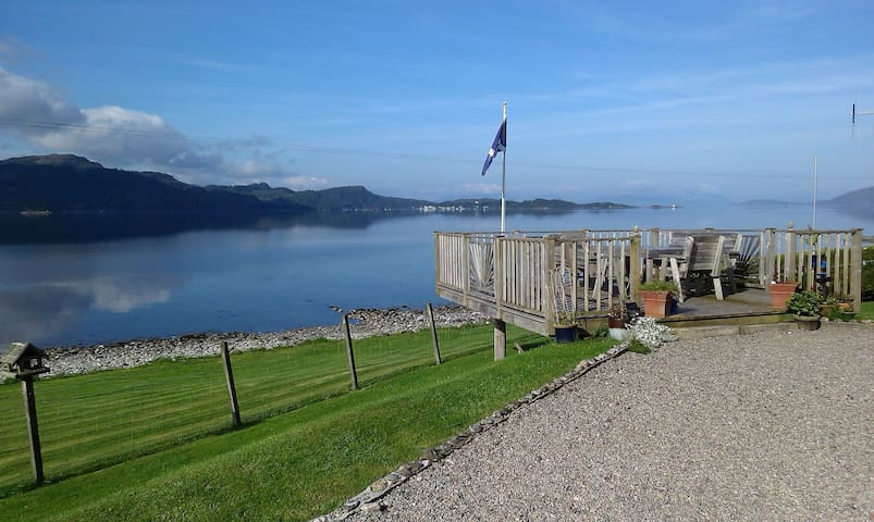 'Rona' B&B  Waters Edge. Twin Room. - STRATHCARRON - Penzion (B&B)
