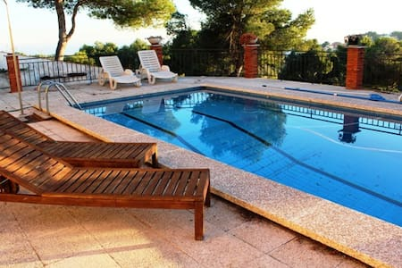 Villa Castellet, 6km to beach! - Rumah
