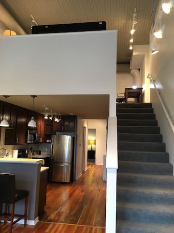 Old Mkt Loft, great weekend deals! - Omaha - Departamento
