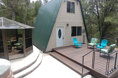 Zion's Cable Mountain Trail Head Cabin