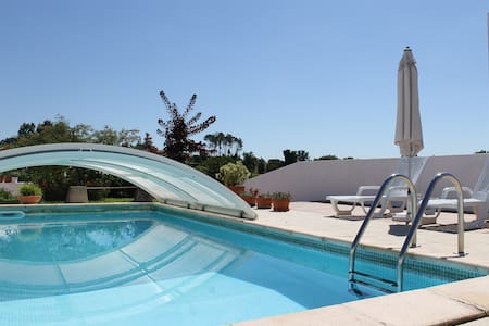 Country house with coverage pool. - Vila Verde - Haus