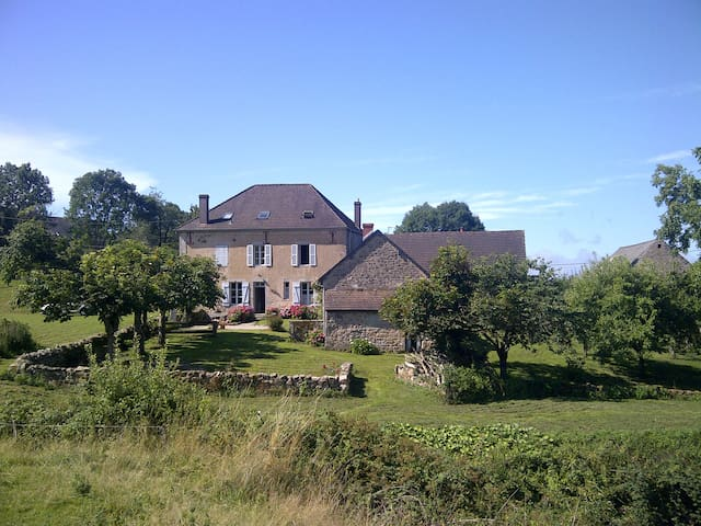 Bienvenue à La Vallée en Morvan. - Lormes - Bed & Breakfast