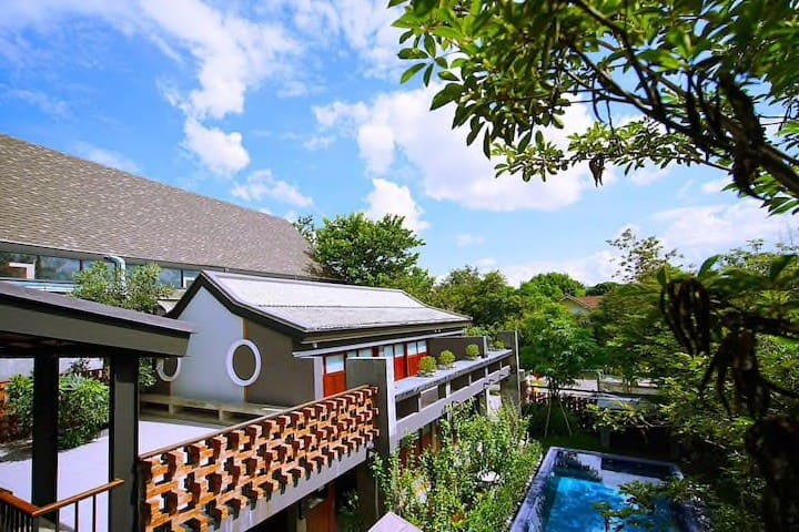 SummerTime19 宁曼路附近 日式庭院度假村 (三天包含接机)
