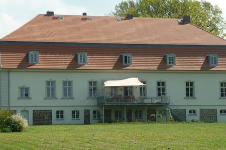 Gutshaus ,  Seeanschluss  u.Steg - Bütow - Linna