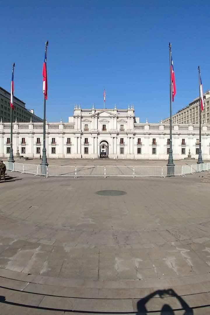 Palacio de la moneda-Palacio de gobierno