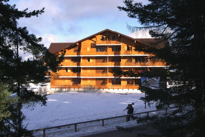 Les CHAMOIS I, 1 chambres, 4 pers, OPTION HOTEL