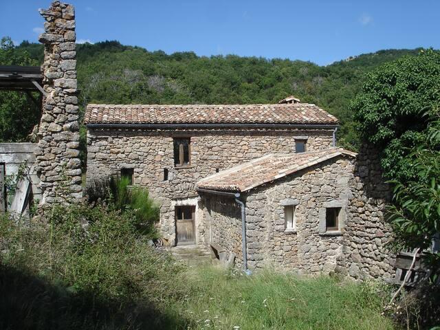 Mas-loft surplombant les Cévennes - Saint-Roman-de-Codières - House