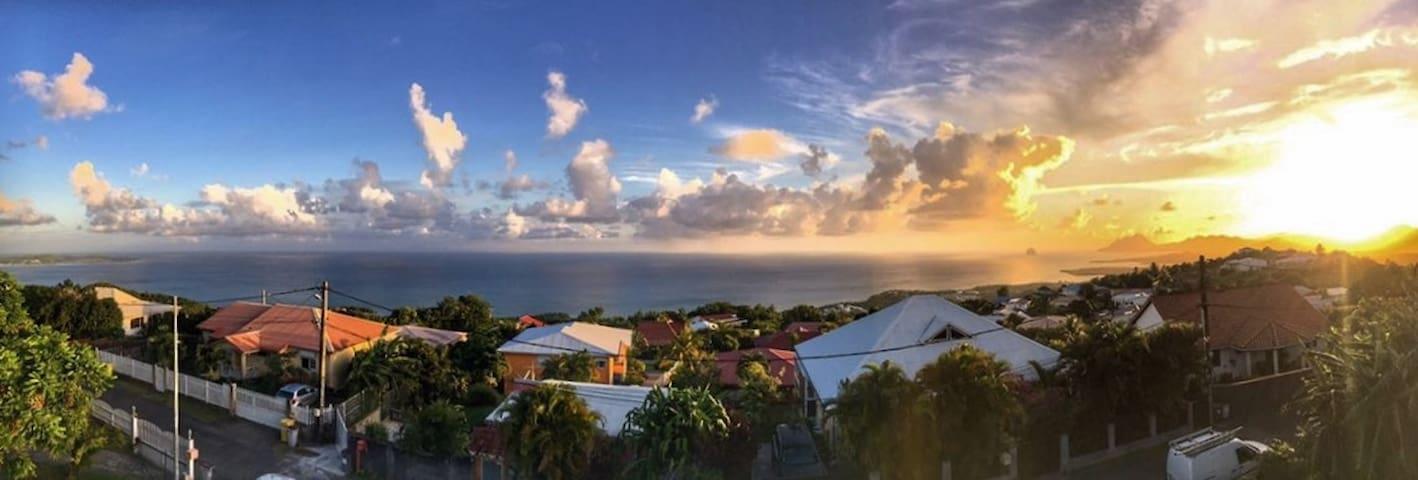 Villa Naïma proche plage et vue mer exceptionnelle