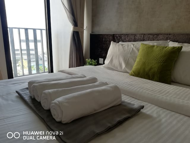Comfy&Convinience Stay@I-CITY(free WiFi & Parking)