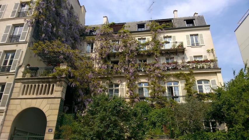 Studio en plein cœur de Paris