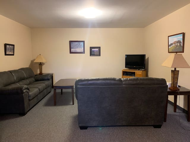 Newly furnished apartment for rent in Medora, ND