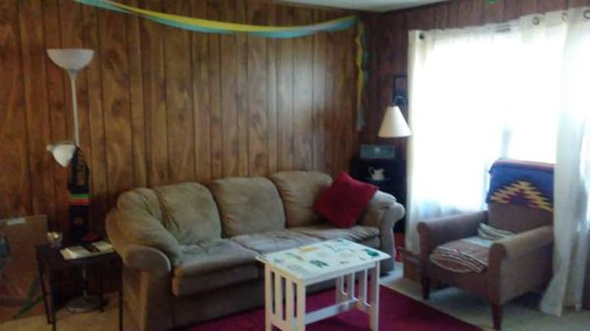 Large Private Bedroom in Lovely Chapel Hills Woods - Chapel Hill - Flat