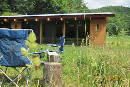 Riverfront Eco-home in Western Mass - Colrain