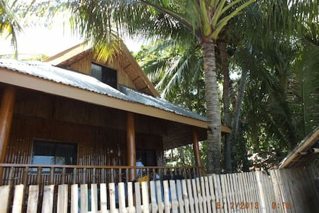 Affordable bamboo beach house