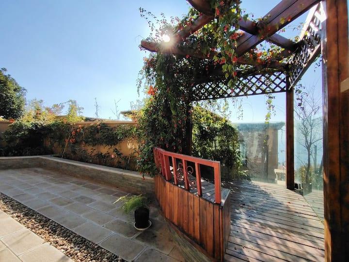(呆墅)抚仙湖太阳山双拼沐浴阳光休闲度假花园庭院七居室