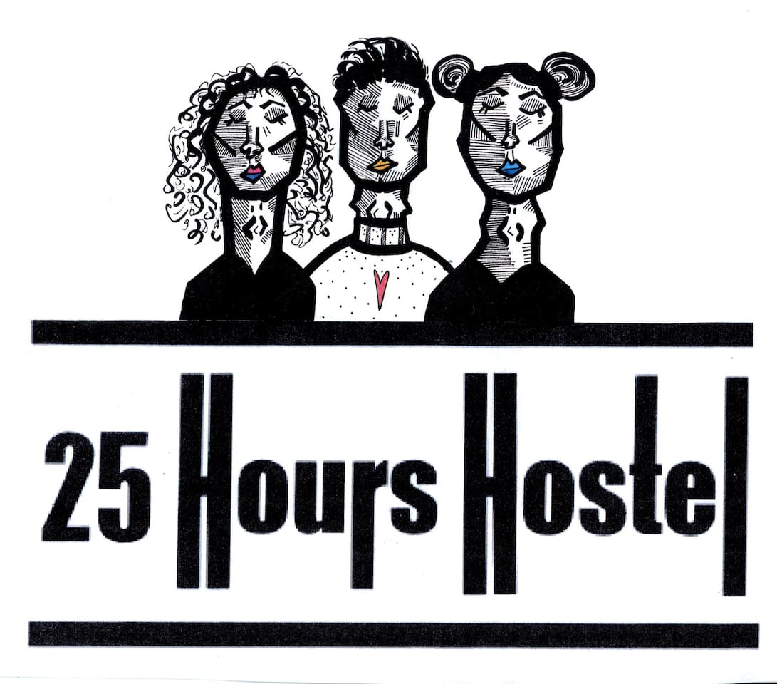 25 hours Hostel logo