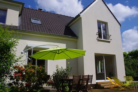 Maison 4 chambres/terrasse Compiègne, forêt à pied - Compiègne - 独立屋