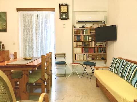 Cozy flat in town centre  3 minutes by the sea