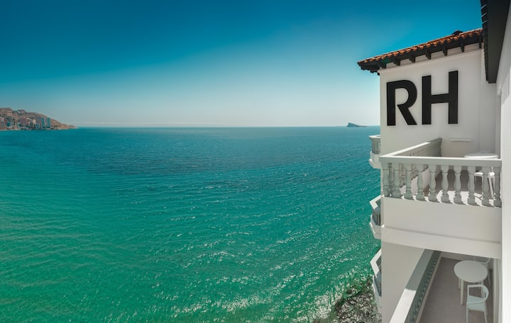 Gastro RH Canfali-Terraza - Vista mar-Desayuno Inc