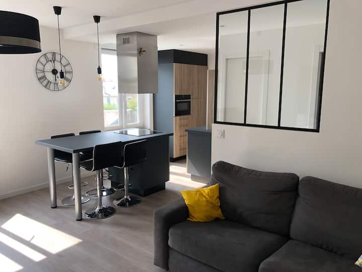 Appartement moderne 100 m de la plage