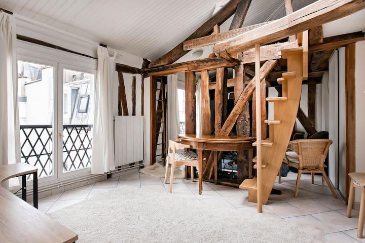 Charmant appartement cosy idéalement situé