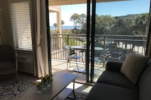 Ocean View From Couch