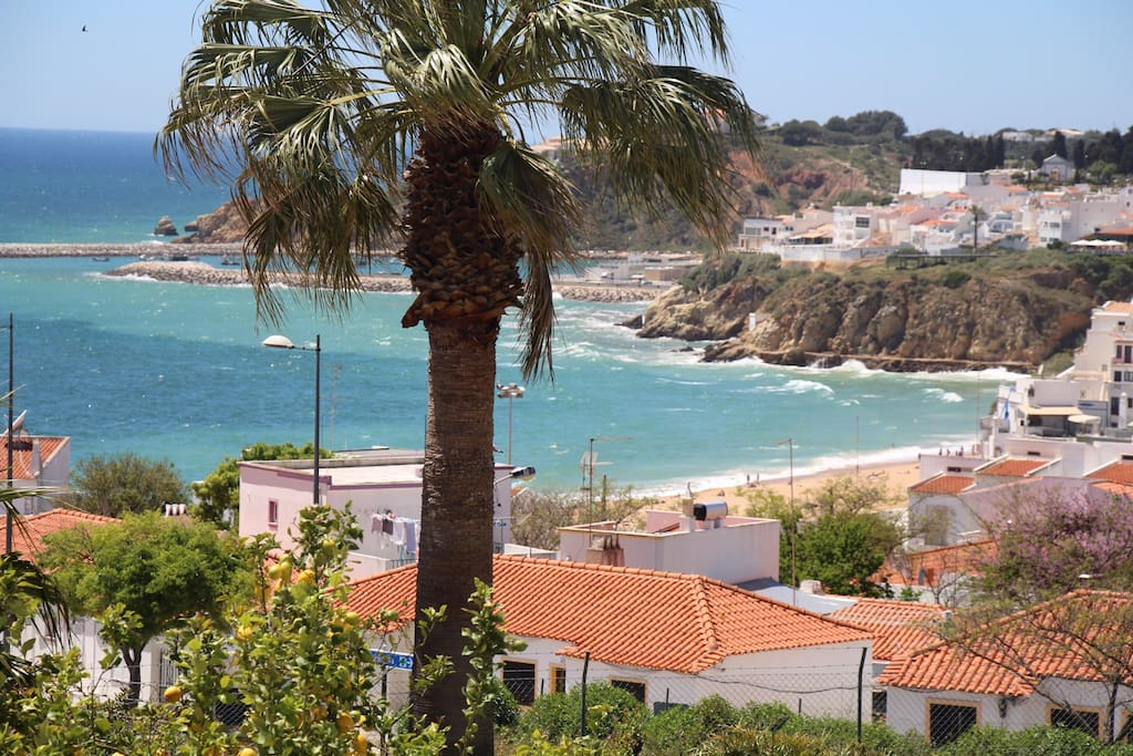 view from the balcony do oceano