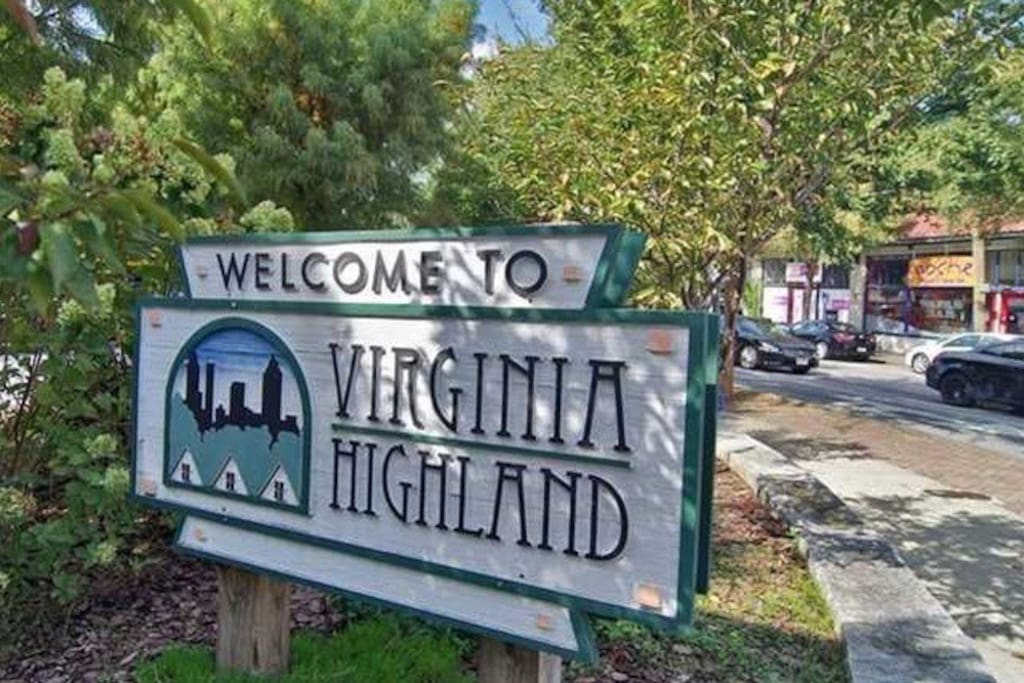 Located in the heart of Virginia Highland