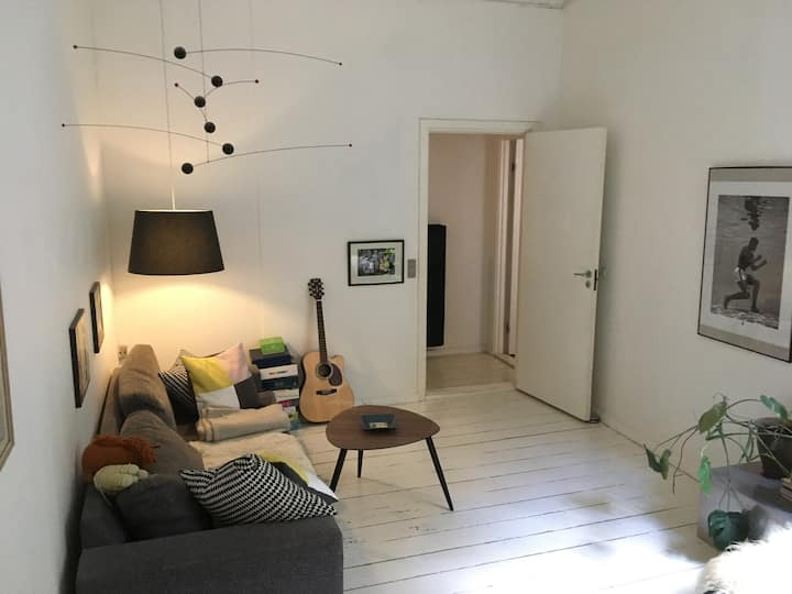 Cosy Flat placed in hip area in the Hart of CPH
