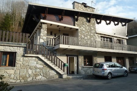Milieu Terre-Middle Apartment 1 of 3 in chalet - Saint-Lary-Soulan - Wohnung