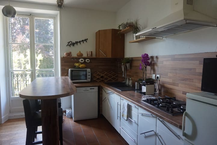 Nice 2 rooms appartement in the middle of Uriage