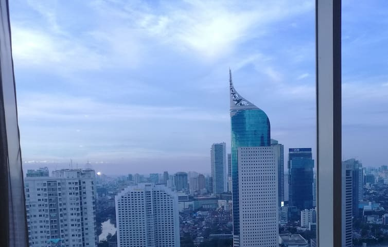 Citylofts Sudirman One Bedroom Penthouse Apartment - Jakarta - Byt