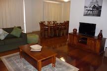Large lounge dining area