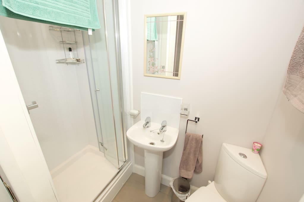 Your ensuite bathroom with great shower!