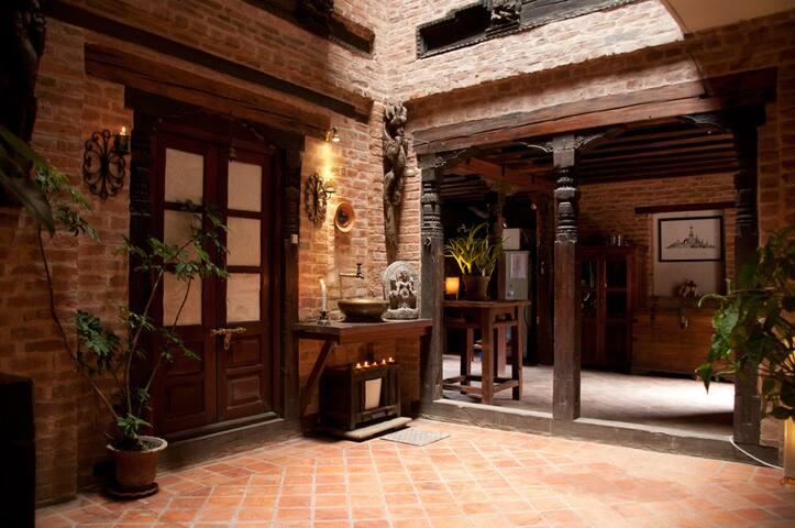 Ground floor/lobby of Yatachhen house.