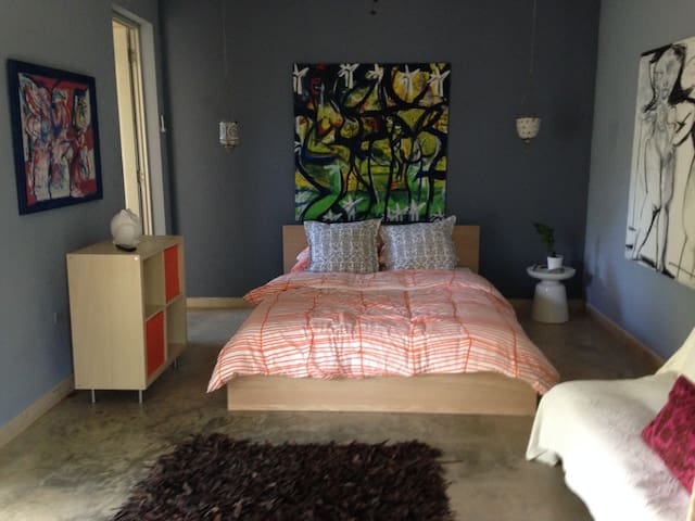 Jobos Beach art & surf studio - isabela - Apartment